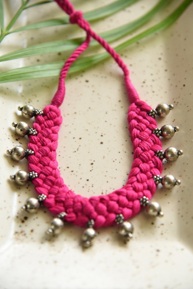 BEADS IN PINK