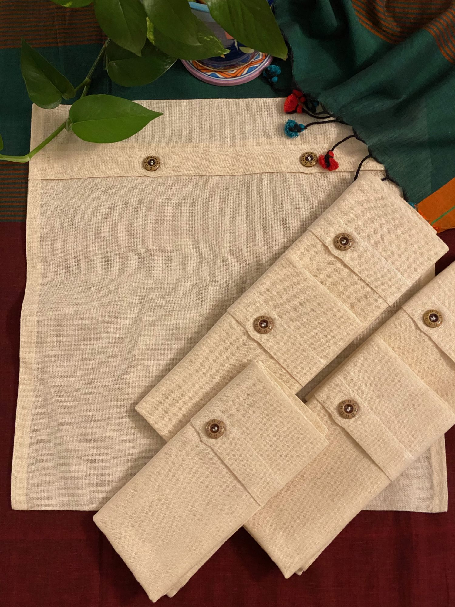 COTTON SAREE  COVER - PACK OF 6