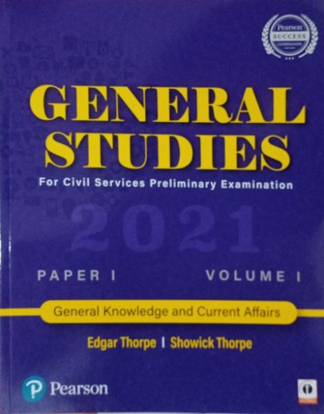 Person General Studies For Civil Services Preliminary Examination  Paper  1 Set of 6 Volumes By Edgar Thorpe