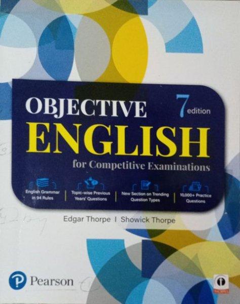 Pearson Objective English By Edgar Thorpe Showick Thorpe