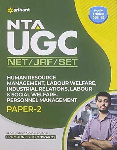 ARIHANT NTA UGC NET JRF SET HUMAN RESOURCE MANAGEMENT LABOUR WELFARE INDUSTRIAL RELATIONS LABOUR & SOCIAL WELFARE PERSONNEL MANAGEMENT PAPER 2