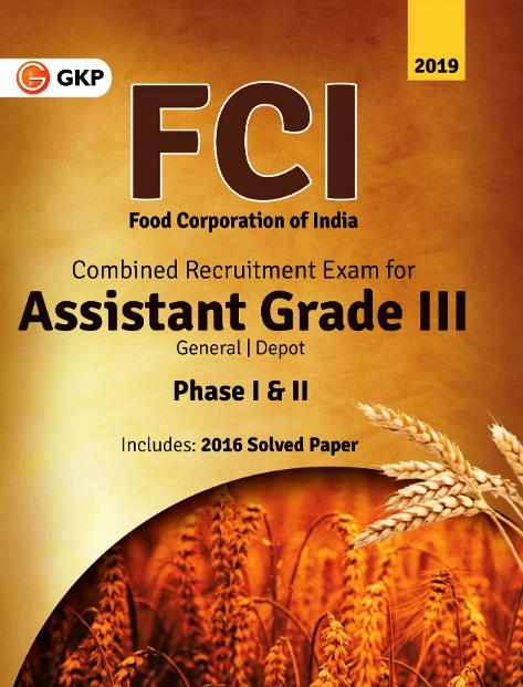 Gkp Fci Assistant Grade Iii