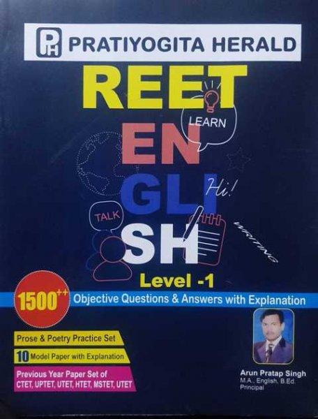 Pratiyogita Herald Reet English Level 1 by Arun Pratap Singh