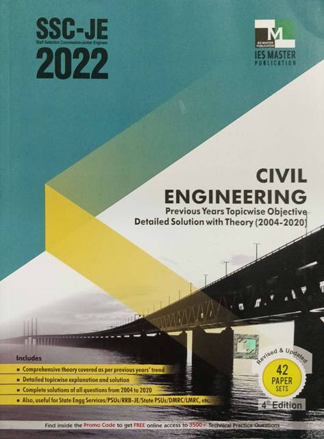 IES MASTER SSC JE CIVIL ENGINEERING BOOK new edition