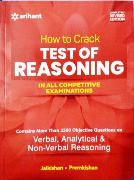 Arihant How to Crack Test of Reasoning by JaiKishan Premkishan