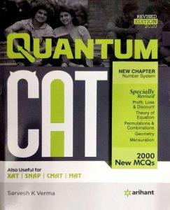 ARIHANT QUANTUM CAT QUANTITATIVE APTITUDE