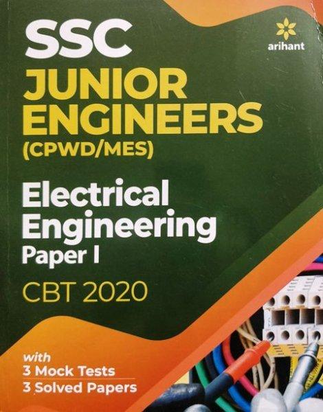 Arihant SSC Junior Engineers Electrical Engineering Paper 1