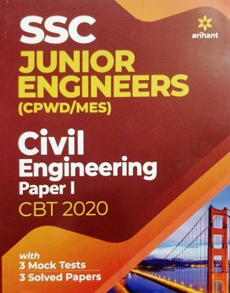 Arihant SSC Junior Engineers Civil Engineering Paper 1