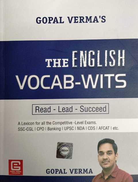 Gopal Verma The English Vocab Wits