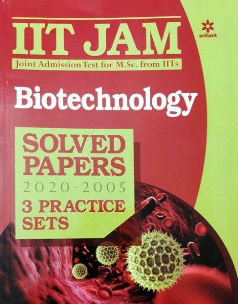 ARIHANT IIT JAM BIOTECHNOLOGY