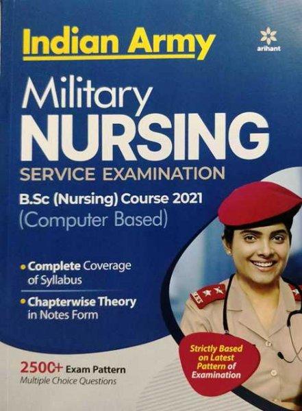 Arihant Indian Army Military Nursing Bsc Nursing service examination by Major RD Ahluwalia