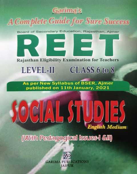 Garima REET Question Bank Social Studies Level II Social Studies
