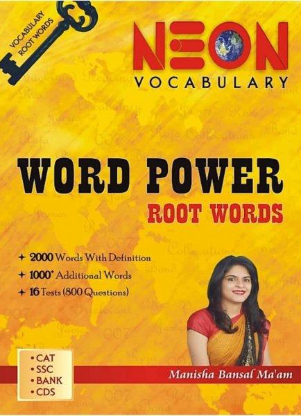 NEON Word Power Root Words By Mnisha Bansal Maam