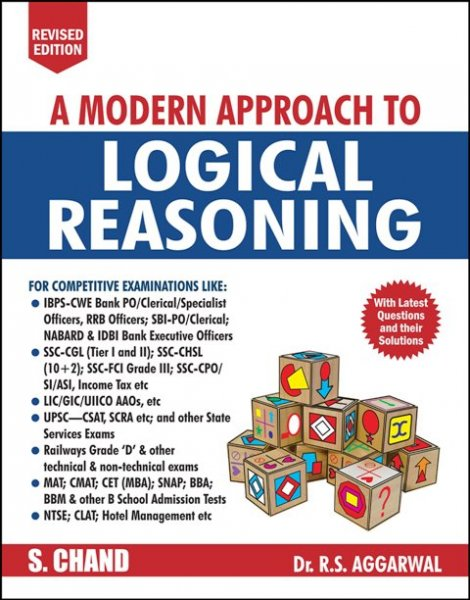 S Chand A Modern Approch to Logical Reasoning by RS Aggarwal