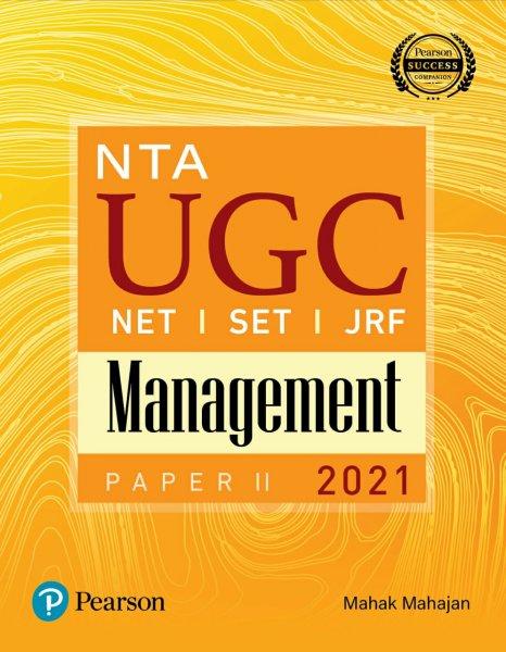 Pearson NTA UGC NET Management Paper II by Mahak Mahajan