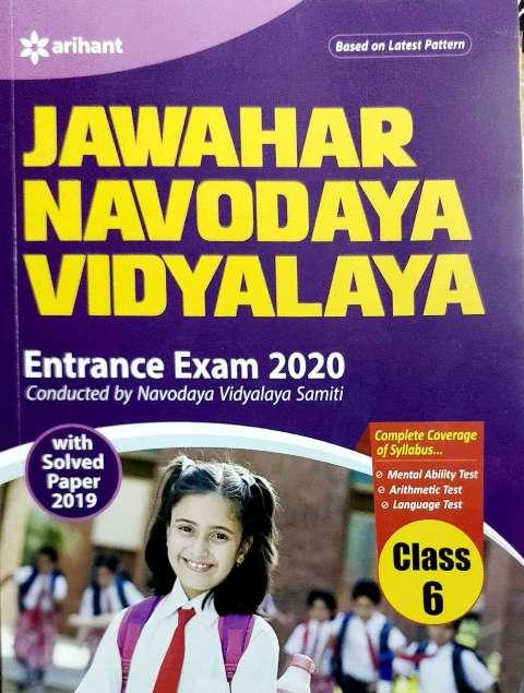 ARIHANT JAWAHAR NAVODAYA VIDYALAYA CLASS 6(E)