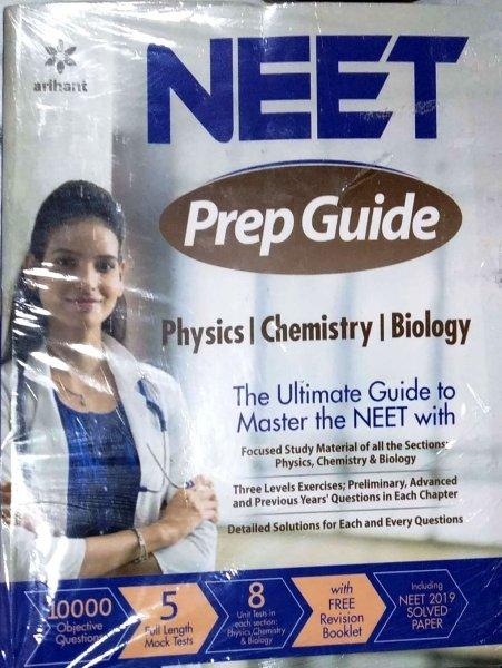 ARIHANT NEET GUIDE PHYSICS CHEMISTRY BIOLOGY