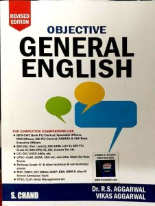S.CHAND OBJECTIVE GENERAL ENGLISH BY Dr. R.S. AGGARWAL VIKAS AGGARWAL