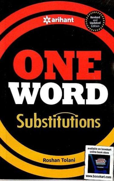 ARIHANT ONE WORD SUBSTITUTIONS ROSHAN TOLANI