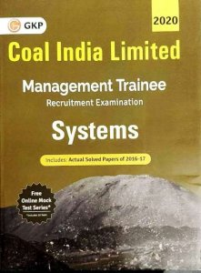 GKP Coal India Limited Management Trainee Systems Book