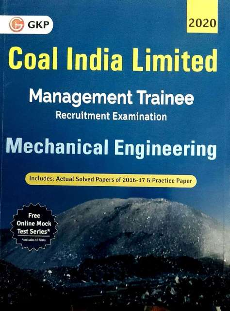 GKP Coal India Limited Management Trainee Mechanical Engineering