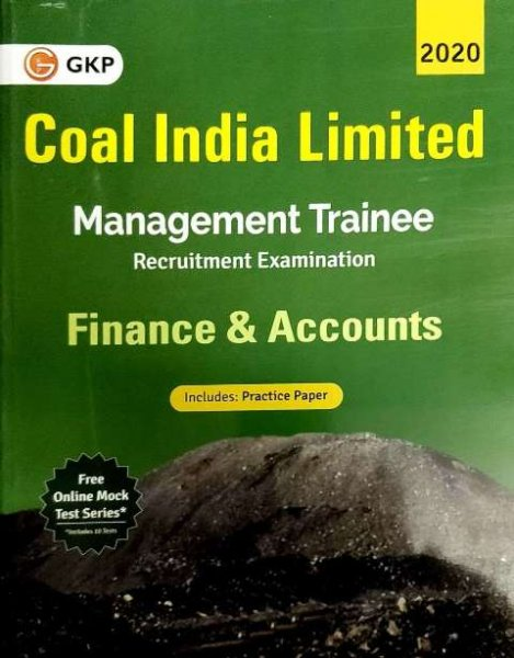 GKP Coal India Limited Management Trainee Finance and Accounts