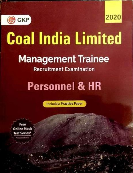 GKP Coal India Limited Management Trainee Personnel and HR