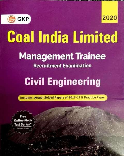 GKP Coal India Limited Management Trainee Civil Engineering