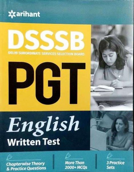 Arihant DSSSB PGT English written test