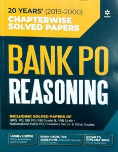 Arihant Bank PO Reasoning Chapter wise Solved Paper 20 years