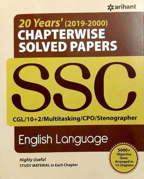 Arihant SSC English Language Chapterwse Solved Paper 20 years