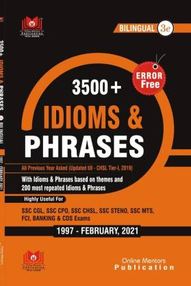 Online Mentors Idioms And Phrases 3500+