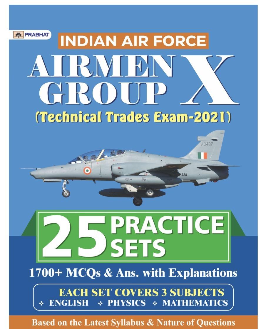 Prabhat Airman X Group Practice Set 25 English Edition