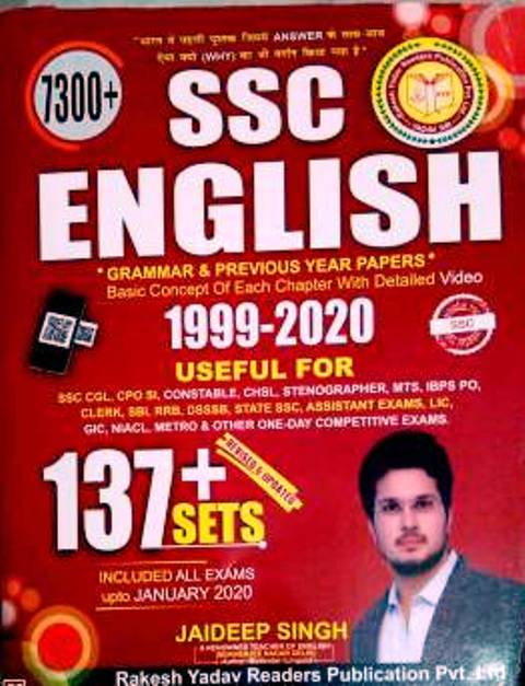 RAKESH YADAV 7300+ ENGLISH PREVIOUS YEAR PAPERS