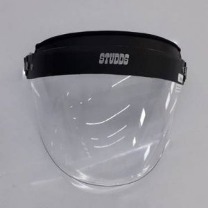 Studds Face Shield face protection Shield MADE OF Poly Carbonate Scratch Proof
