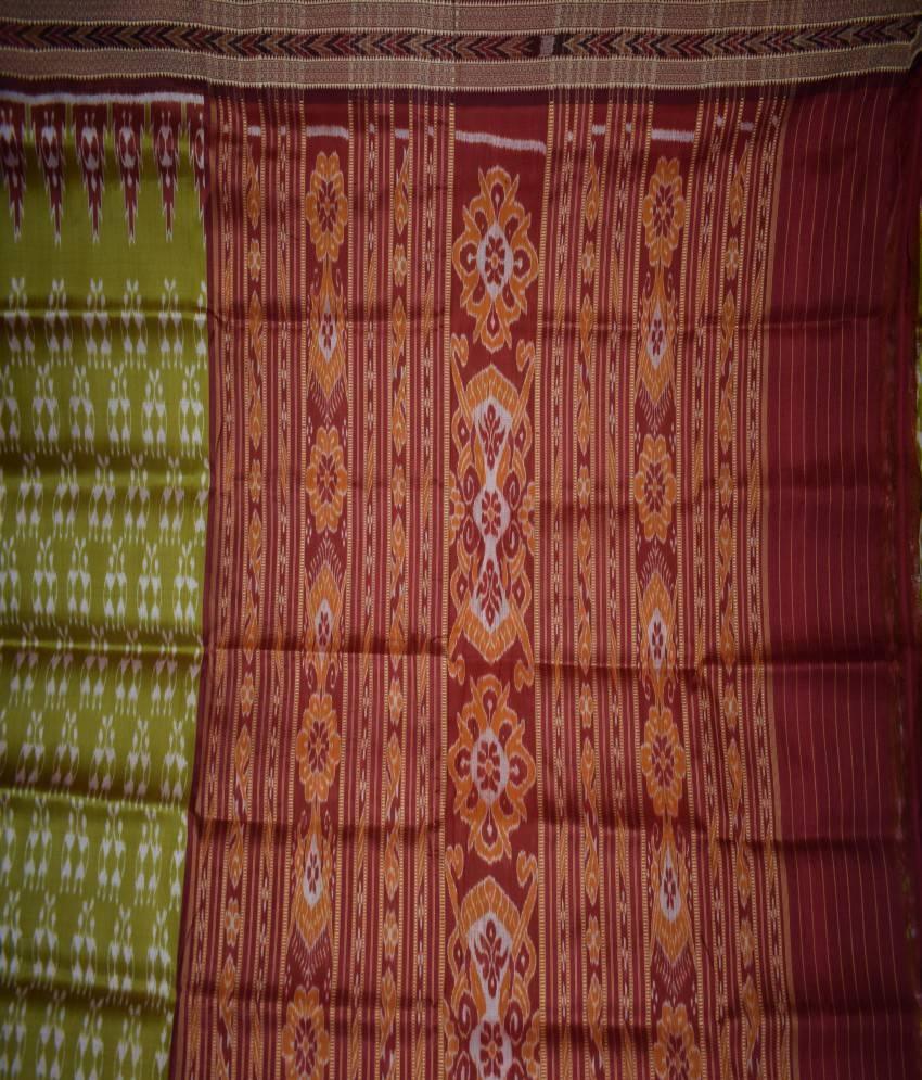 Tribal Khandua Silk Saree