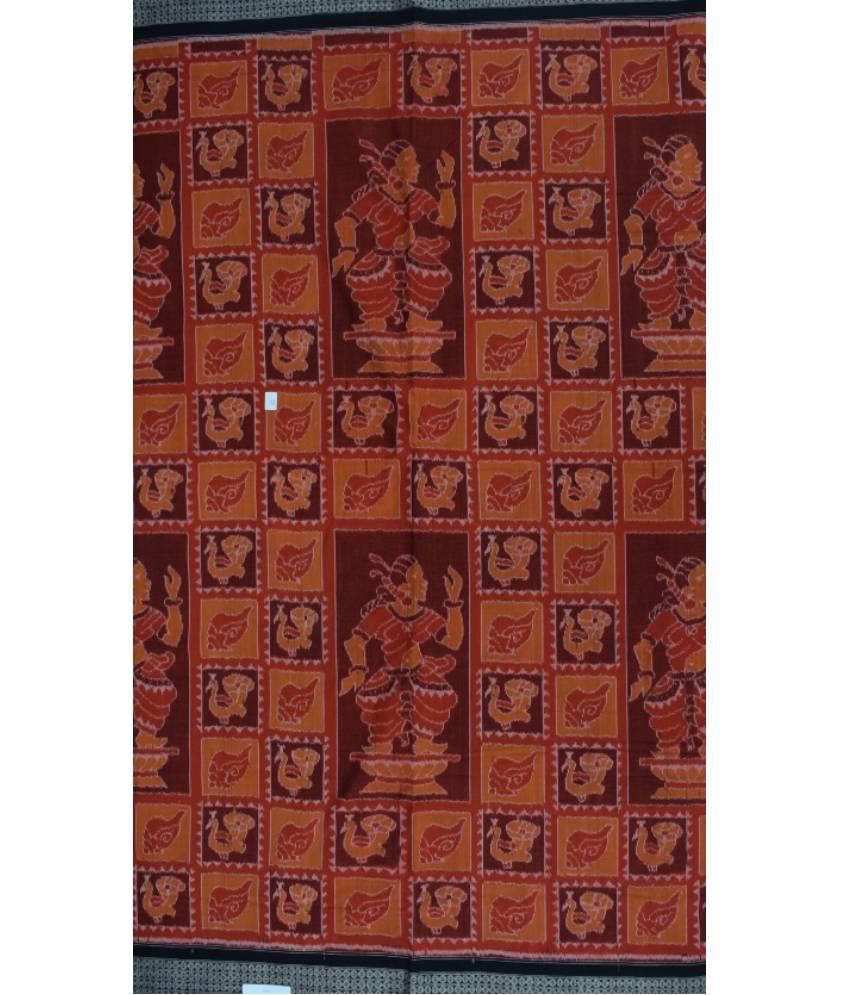 Sambalpuri Cotton Handloom Nartaki Saree