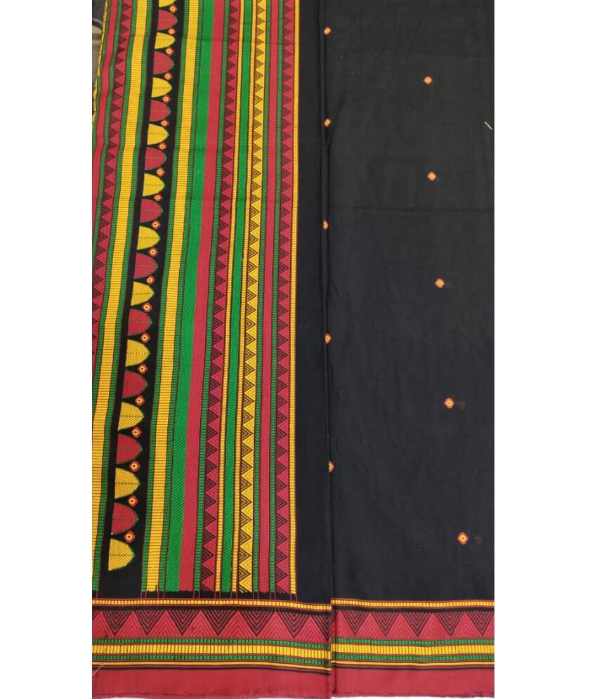 Black Dongria Saree