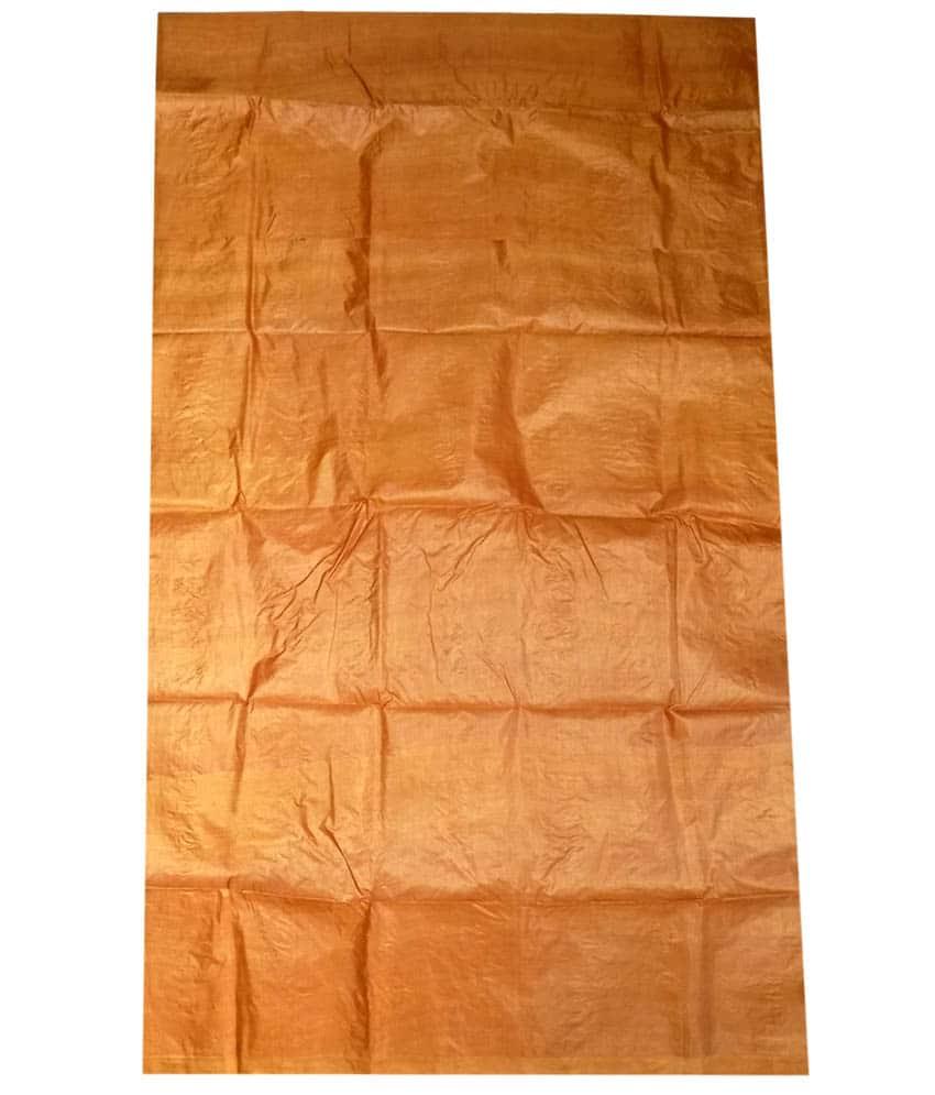 Brown Tussar Silk Suit PIece