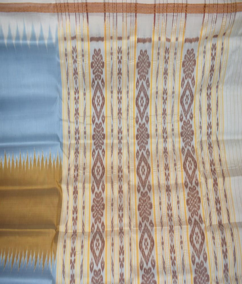 Khandua Half-Half Silk Saree