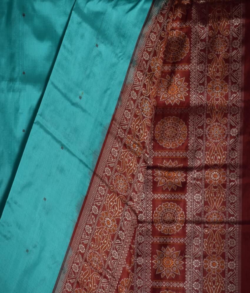 Pasapali Border Silk Saree