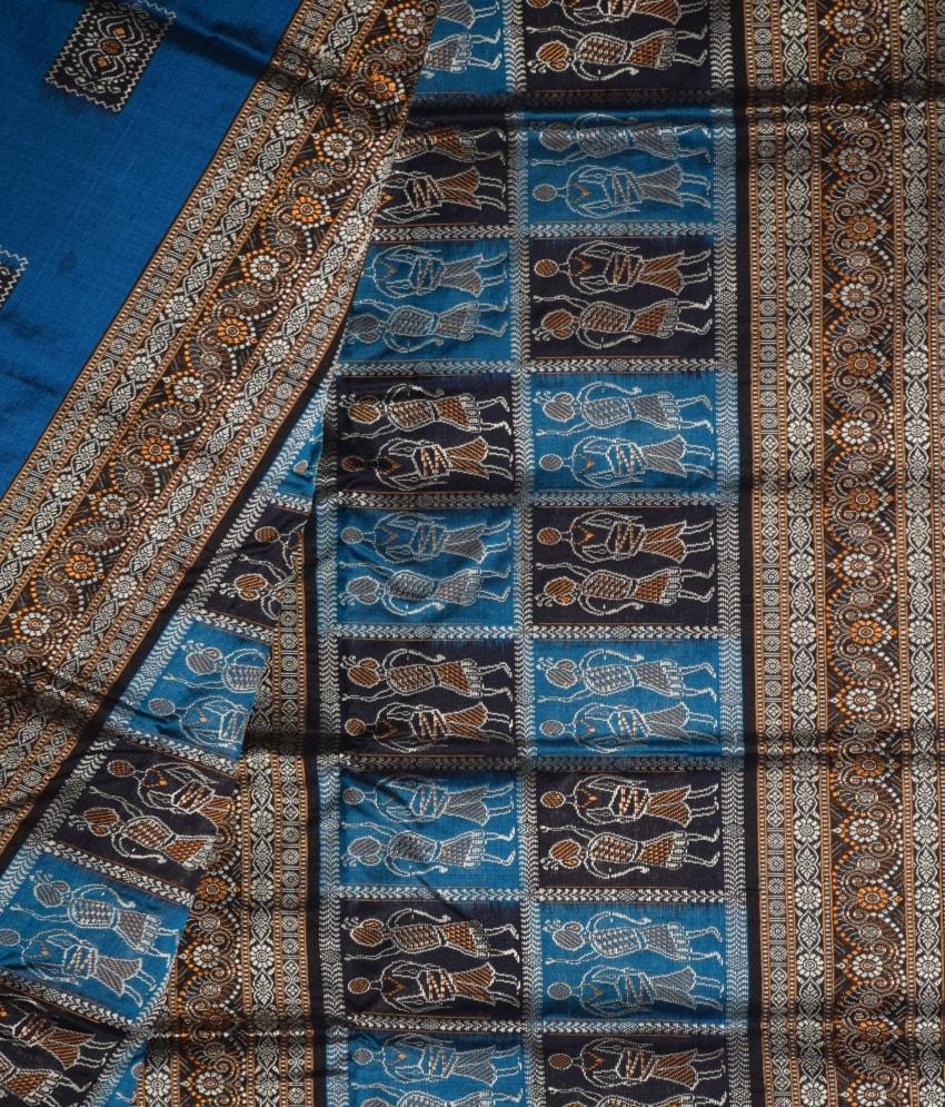 Body Bomkai Tribal Silk Saree