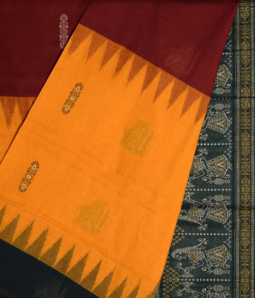 Multicolour Bomkai Cotton