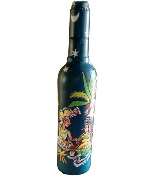Pattachitra Hand Painted Bottles