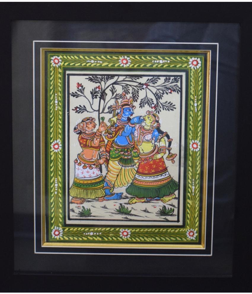 Radhakrishna Pattachitra Painting