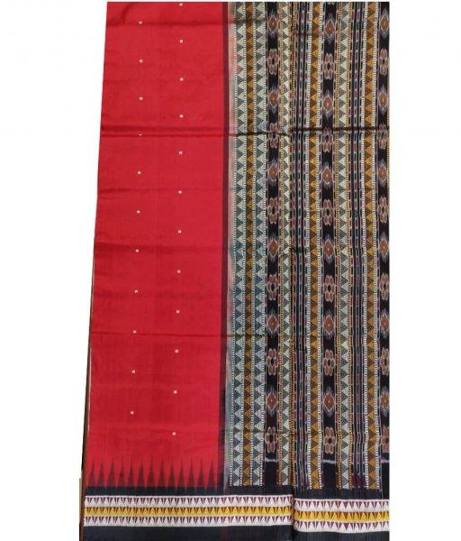 Red Dongria Saree