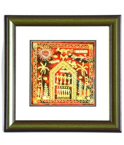 Soura Painted Wall Hanging