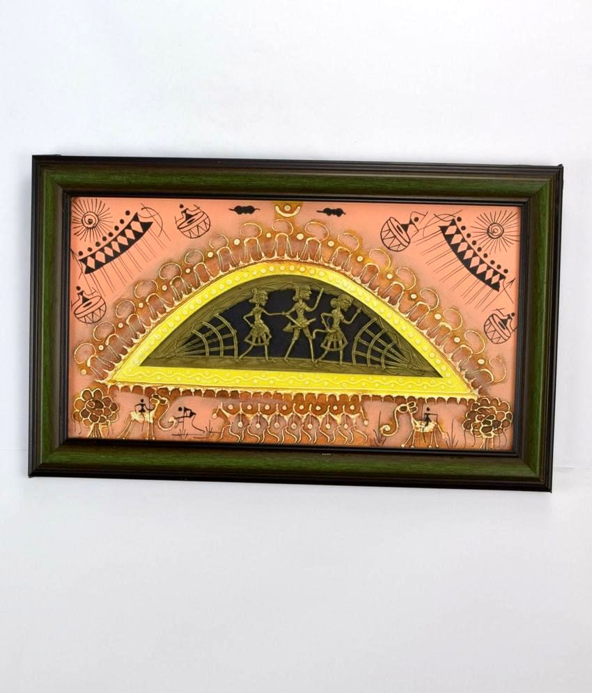 Soura Painting With Dhokra Work