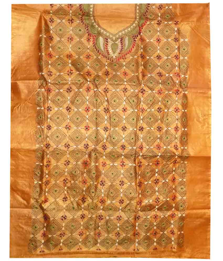 Tussar Silk Suit Piece