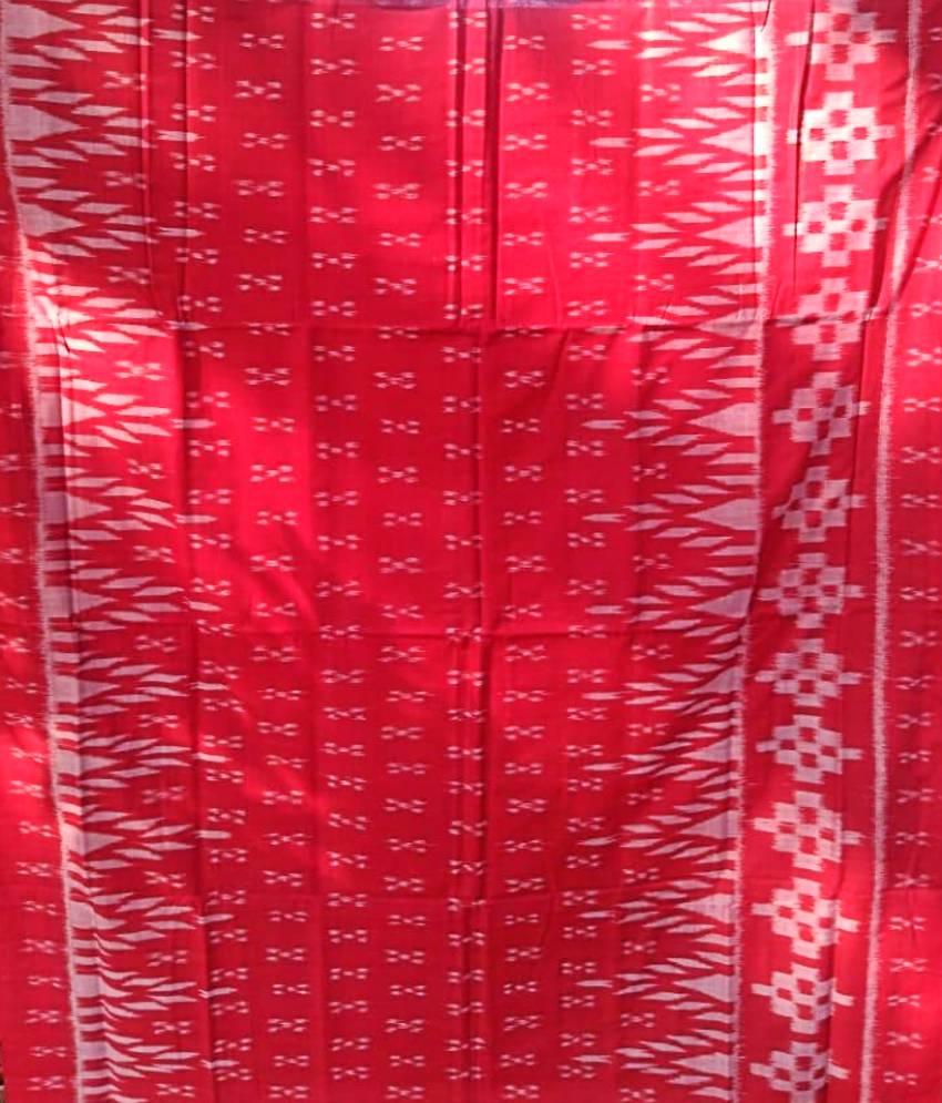 Ikat Cotton Saree